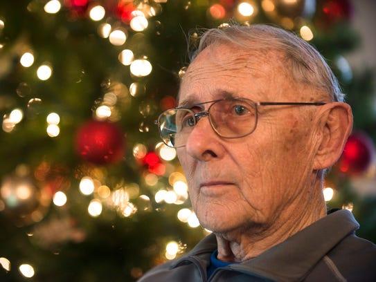 Bruce Gearheart, Vietnam Veteran, at his home in Prattville,