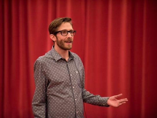 Realtor Ryan Paul Johnson tells his story during Arizona