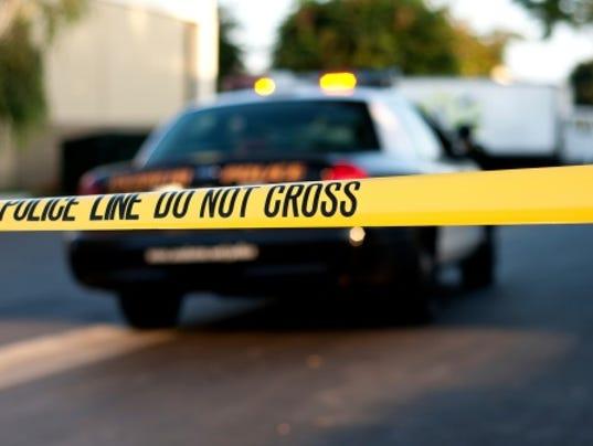 Crime scene file photo