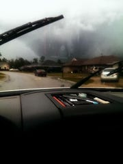 Photos of the storm from Molino, Fl.