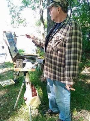Paul Tibedeau is among more than 40 artists who will paint outdoors in and around Milford June 23-25.