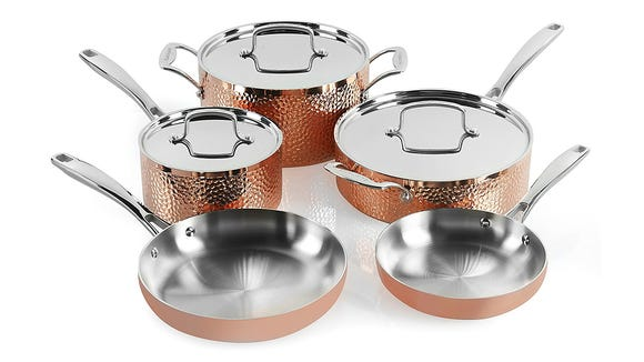 This stunning set will wow anyone obsessed with copper.