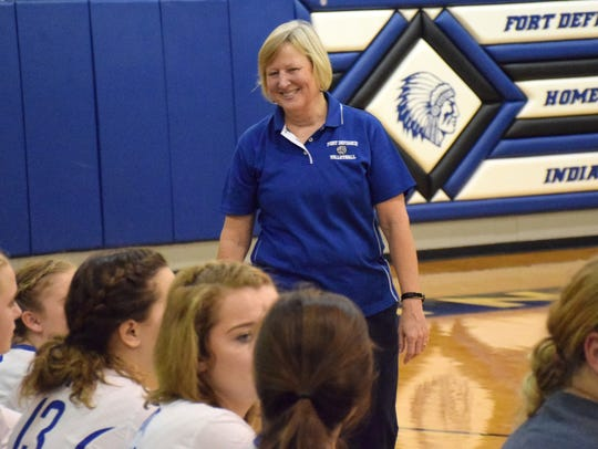 Sue Leonard is ready to lead her Indians into the regular