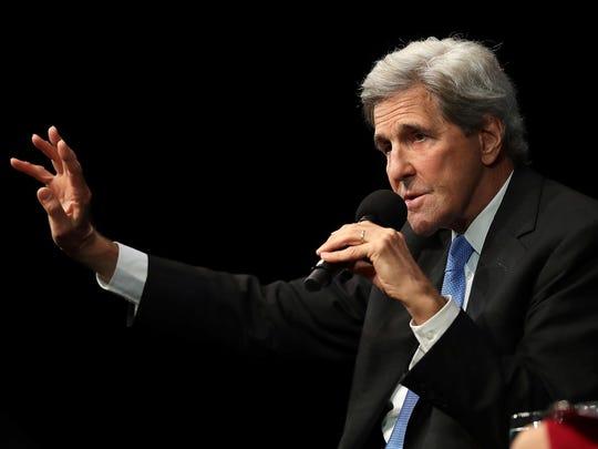 John Kerry Addresses San Francisco's Commonwealth Club