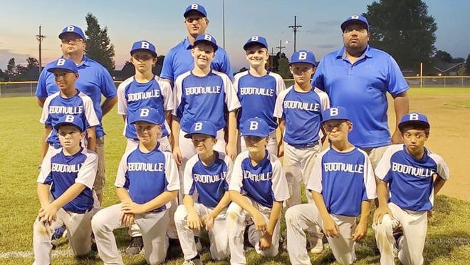 The Boonville 10-year-old All-Stars finished second in the Missouri Cal Ripken State Tournament over the weekend in Carthage. The Boonville 10 All-Stars suffered their only losses of the tournament against Mineral Area, losing by the scores of 15-0 and 15-5. Boonville 10s will play in the Missouri 11UState Tournament this weekend in Boonville.