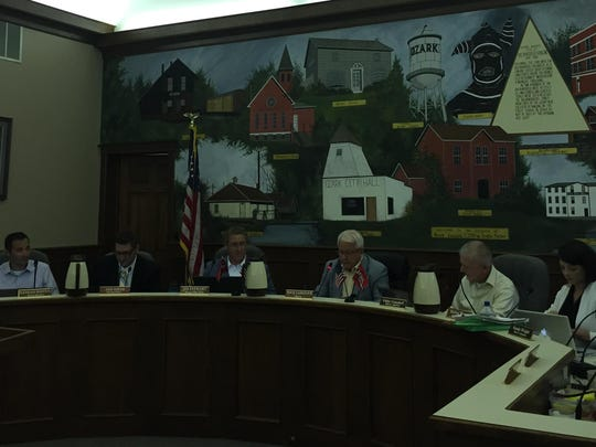 The Ozark Board of Aldermen met on Monday and the city administrator announced the city has advertised for applicants for police chief.