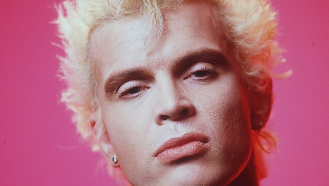 Billy Idol said his visual style was both a blessing and a curse early in his career.