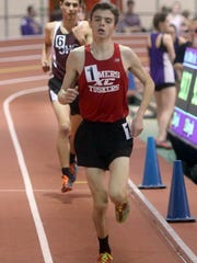 Matt Fusco of North Rockland won the boys 3200 meter