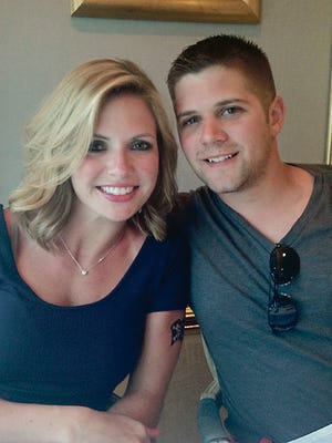 Melissa Lauziere and Dustin Abell