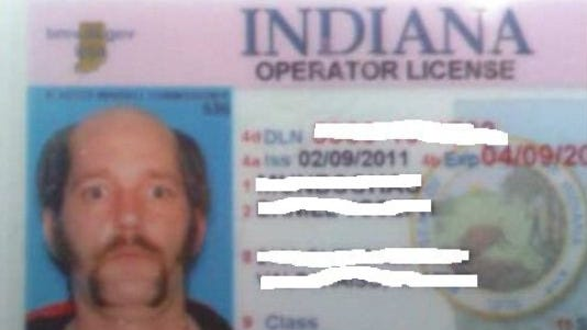 Daniel Mundschau created this look for his Indiana driver's license.