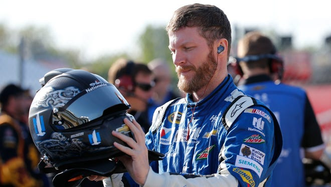 Dale Earnhardt Jr. says he doesn't know why Tony Stewart is upset after their on-track incident.