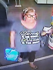 On April 12, an unknown woman used a fraudulent account to make purchases at the Best Buy store in Prattville.