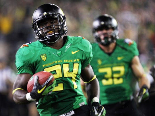 Oregon running back Kenjon Barner.