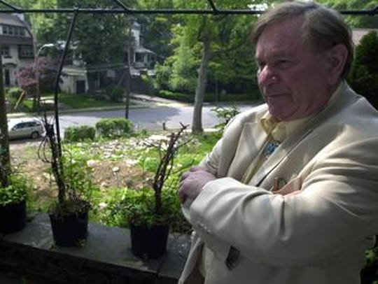 Ronald Senator at his home in Yonkers on June 1, 2005