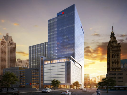 Proposed BMO Harris Bank building