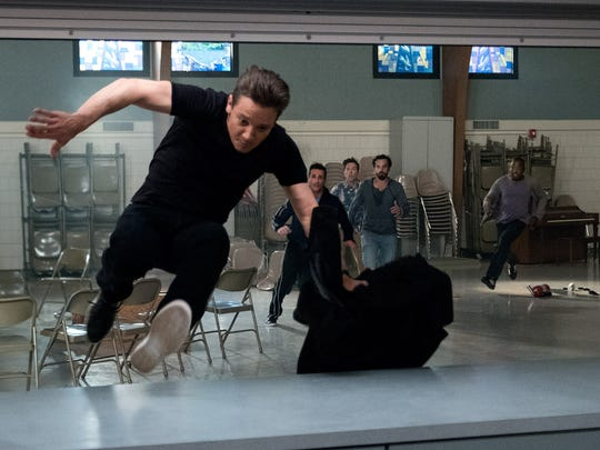 """Jeremy Renner will do anything to never be """"it"""" in his friends' (Jon Hamm, Ed Helms, Jake Johnson, Hannibal Buress) decades-long game of """"Tag."""""""