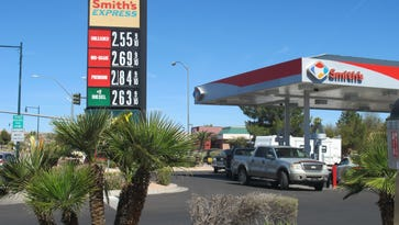 The average price for a gallon of gas in Nevada has increased 12 cents over the last  month.