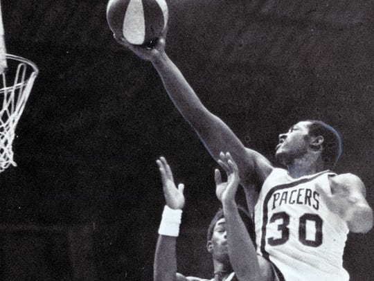 George McGinnis was a monster for the Pacers.