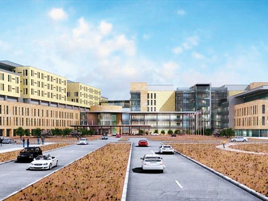 A rendering of the new William Beaumont Army Medical