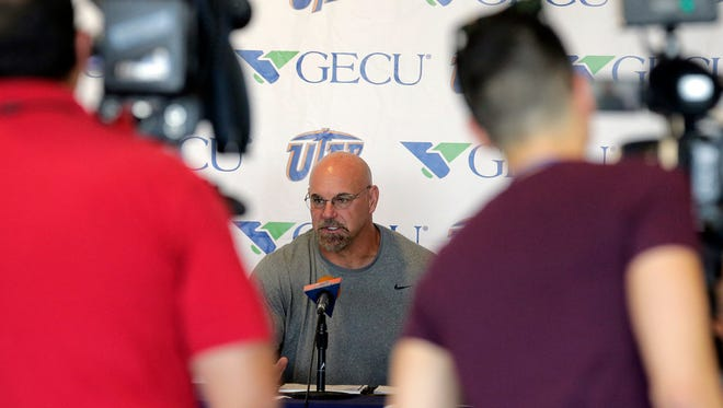 UTEP head coach Sean Kugler reflects on his teams recent win Saturday night in the Sun Bowl agianst Florida Atlantic where his team won its first CUSA game and are now (3-4, 1-2 CUSA). Kugler quickly shifted gears to this week's opponent Southern Miss.