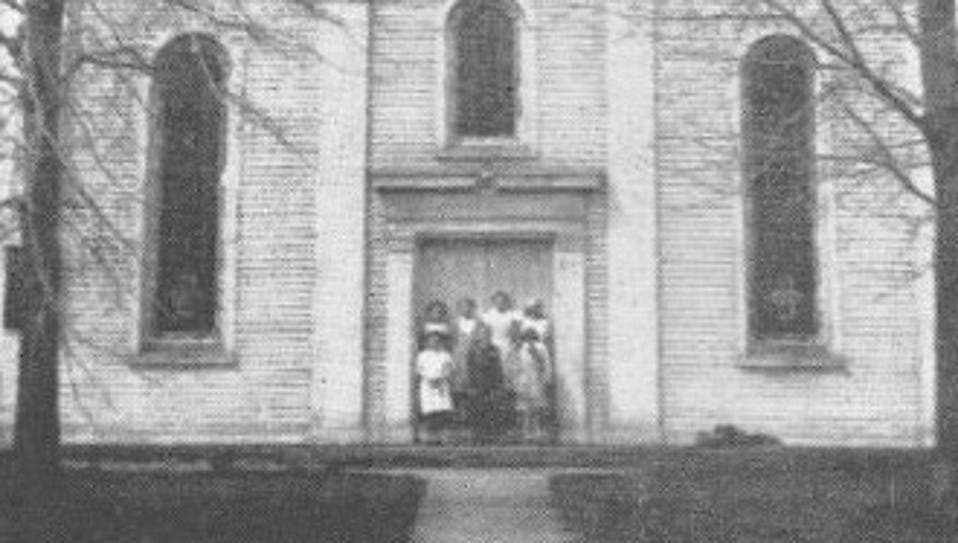This is how the Ogden Baptist Church appeared before