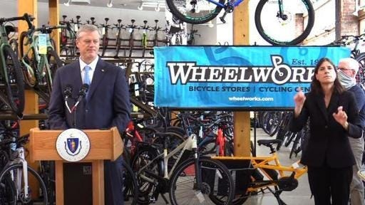 Nearly every Massachusetts resident who attended a wedding event in Rhode Island in July later tested positive for coronavirus, Massachusetts Gov. Charlie Baker said at his press conference Tuesday.