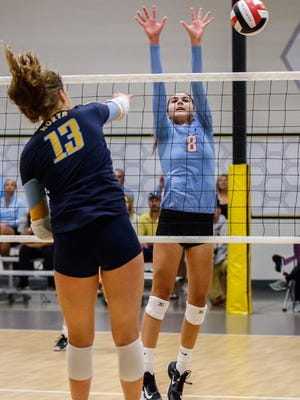 Arrowhead junior Aubrey Hamilton, shown here in a match from last season, is a big reason the Warhawks moved up to the No. 1 spot in the area rankings.