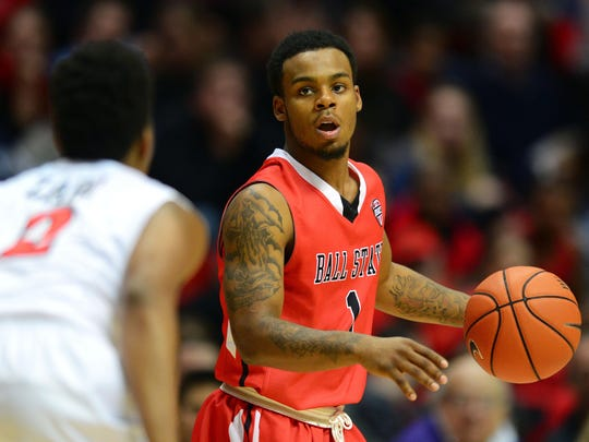Zavier Turner was MAC Freshman of the Year at Ball State.