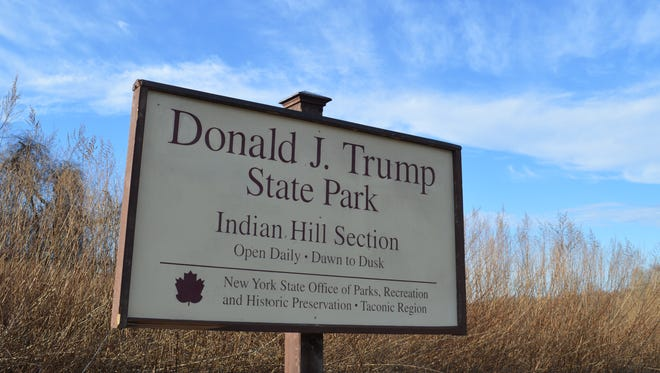 Donald J. Trump State Park sprawls over 282 acres atop Indian Hill in Putnam Valley.