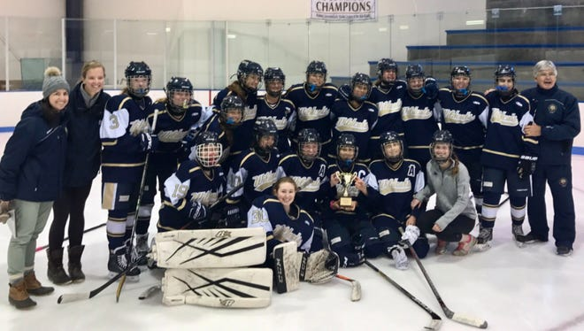 Rye Country Day won the Women's Interscholastic Hockey League of the Mid-Atlantic tournament over the weekend at The Hill School in Pottstown, Pa.