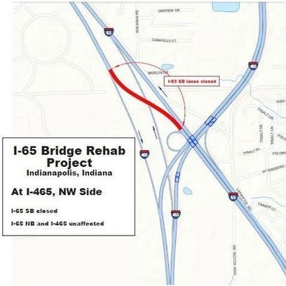A look at the upcoming bridge project on I-65