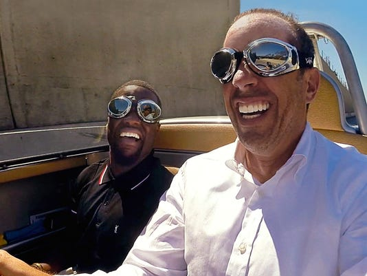 Watch: Kevin Hart Takes A Ride With Seinfeld