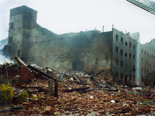 The Beacon Manufacturing  fire in September 2003 was