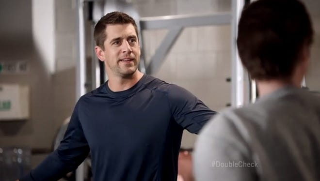 Aaron Rodgers is back with a new Discount Double Check ad for State Farm.