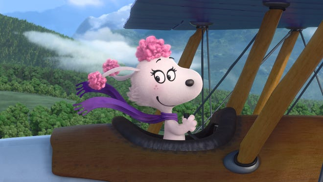 Kristin Chenoweth voices the high-flying Fifi in 'The Peanuts Movie.'