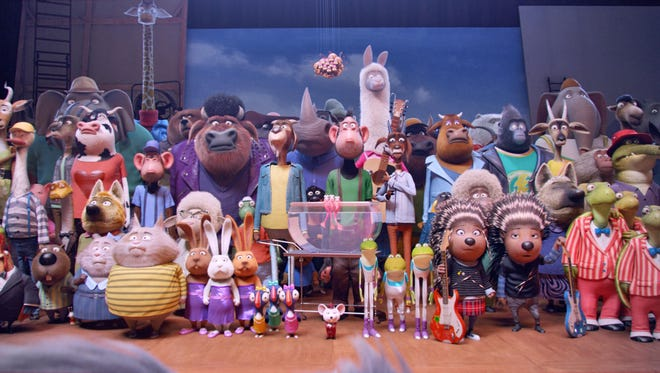 """A scene from the animated film """"Sing."""""""