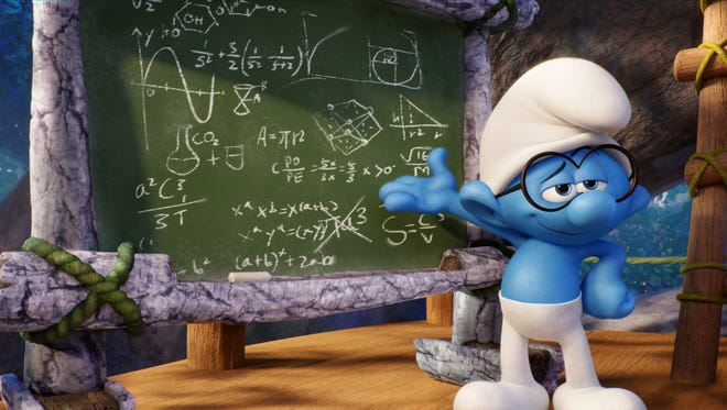 """Can you guess what the chief characteristic is of Brainy in """"Smurfs: The Lost Village?"""""""