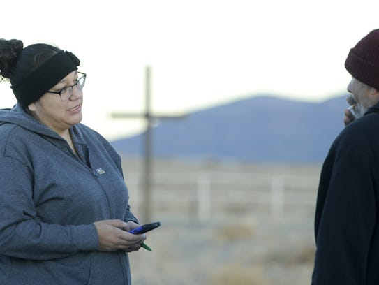 Human Services Case Manager Mikelynn McKinney talks