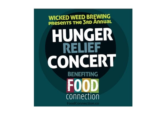 Claim your FREE Hunger Relief Concert Tickets