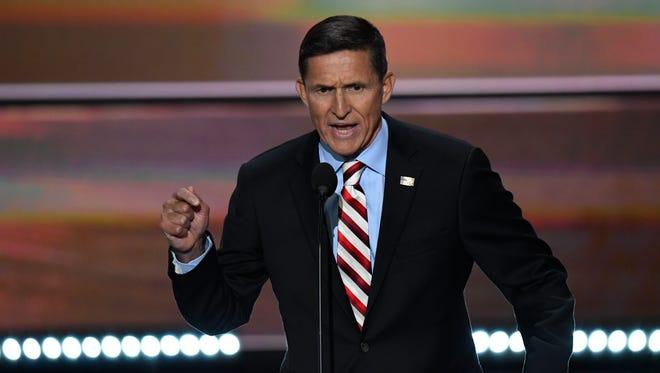 Retire Lt. Gen. Michael Flynn, U.S. Army, Trump's new NSA adviser