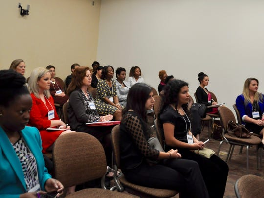 Though the conference is student-focused, attendees also included FSU faculty, staff and Tallahassee community members.