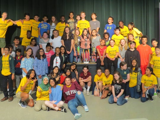 Wardlaw+Hartridge Middle School musicians excel in the Park.