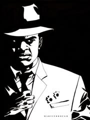 "One of Shawn Martinbrough's favorite projects was drawing ""Luke Cage Noir"" for Marvel, which set the classic comic book hero character of Luke Cage — who was created in the 1970's as a Blaxploitation-type character — as a noir character in the 1920's."