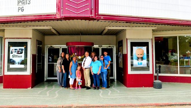 Live Oak County Economic Development Corporation and Rialto Theatre staff will celebrate the theater's recorded historical landmark designation Saturday, April 29, 2017.