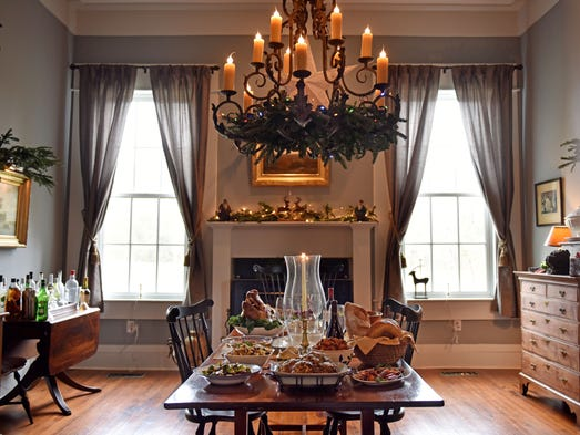 """My favorite part of the house is the dining room."