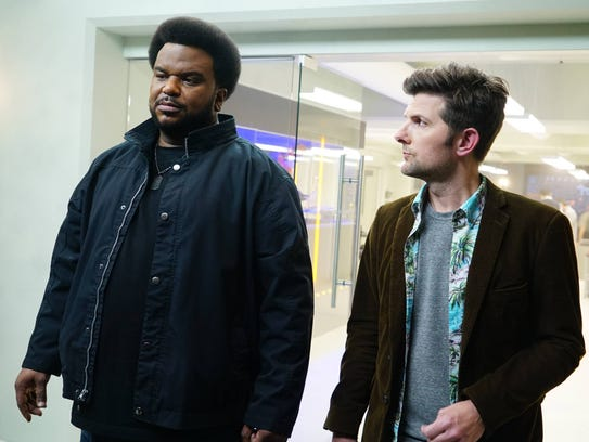 Craig Robinson and Adam Scott, Ghosted, Fox
