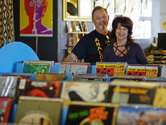 In October, Rich Fisher and Kim Gold opened Squeeze Box Records, a vintage vinyl record store in Wilmington.