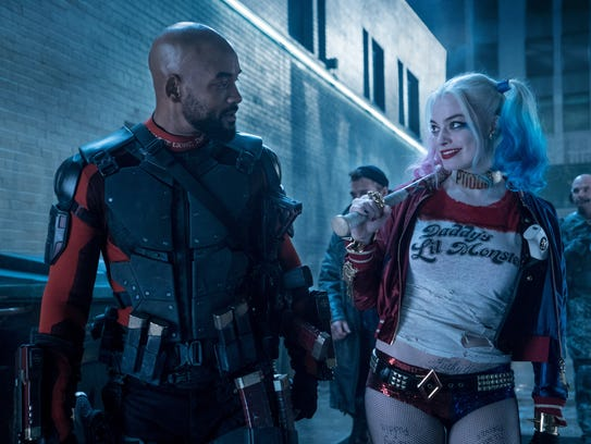 Margot Robbie (right, with Will Smith) has been developing