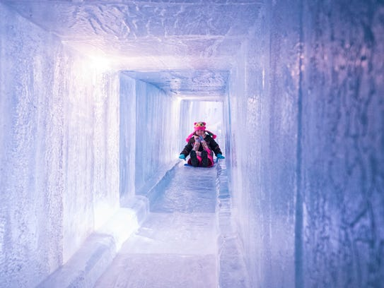Dillon's Ice Castles are open through March, allowing