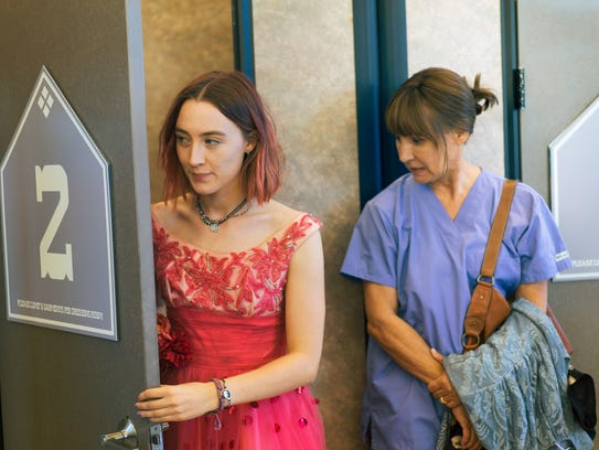 Saoirse Ronan and Laurie Metcalf star in the Oscar-nominated film 'Lady Bird.'
